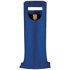 "1 Bottle Wine Bags, 6"" x 16.25"", Royal Blue"