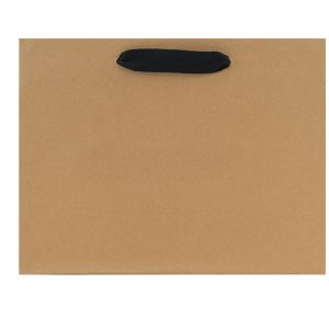 """Twill Handle Euro tote shopping bags, 13""""W x 5""""D x 10""""H (missy)"""