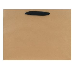 """Twill Handle Euro tote shopping bags, 16""""W x 6""""D x 12""""H (vogue)"""