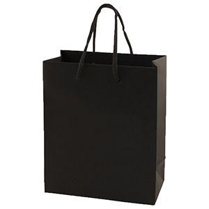 "Black Tote Shopper Bags, Non Laminated, 8"" x 4"" x 10"" x 4"""