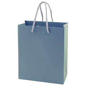 "Blue Tote Shopper Bags, Non Laminated, 8"" x 4"" x 10"" x 4"""