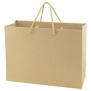 "Sand Tote Shopper Bags, Non Laminated, 13"" x 5"" x 10"" x 5"""