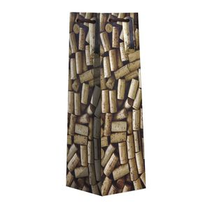 """Bottle Tote Bag, Corks Collection, 4.5"""" x 14"""" x 4.5"""""""