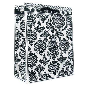"Medium Tote Bag, Damast Collection, 10"" x 8"" x 4"""