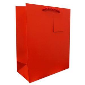 "Medium Tote Bag, Red, 10"" x 8"" x 4"""