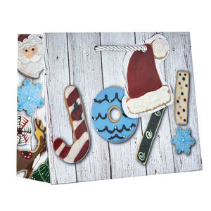 "Small Tote Bag, Christmas Cookies Collection, 7.5"" x 6"" x 3"""