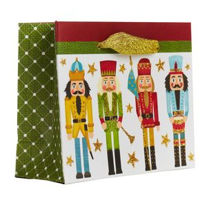 """Small Tote Bag, Traditional Nutcracker Collection, 5"""" x 4"""" x 2"""""""
