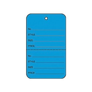 """1 3/4"""" Dark Blue, UnStrung Apparel Colored Tags"""