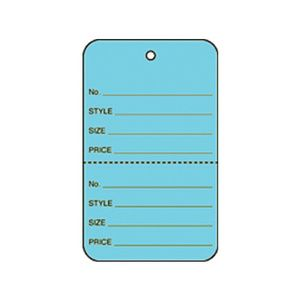 """1 3/4"""" Blue, UnStrung Apparel Colored Tags"""
