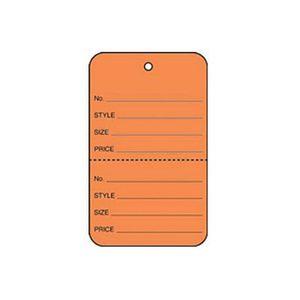 "1 3/4"" Orange, UnStrung Apparel Colored Tags"
