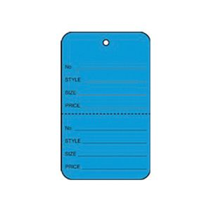"""1 1/4"""" Dark Blue, UnStrung Apparel Colored Tags"""