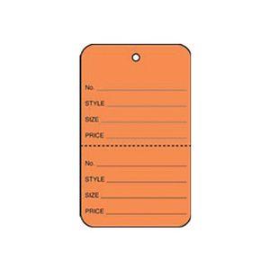 "1 1/4"" Orange, UnStrung Apparel Colored Tags"