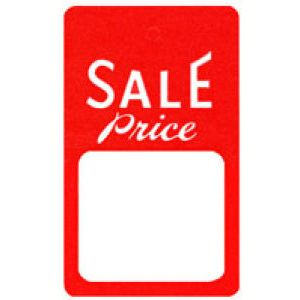"""Strung Sale Price Tags, 1-7/8"""" x 6-9/16"""""""