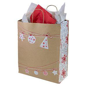 "Large Shopping Bag, Ornament Sway, 13"" x 6"" x 16"" (senior)"