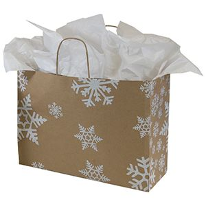 "Large Shopping Bag, Snow Days, 13"" x 6"" x 16"" (senior)"