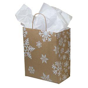 "Medium Shopping Bag, Snow Days, 8"" x 4.75"" x 10.25"" (cub)"