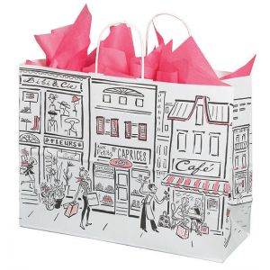 """Large Shopping Bag, City Collection, 16"""" x 6"""" x 12"""" (vogue)"""