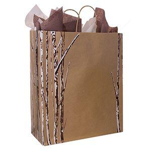 "Large Shopping Bag, Birch Bliss, 13"" x 6"" x 16"" (senior)"