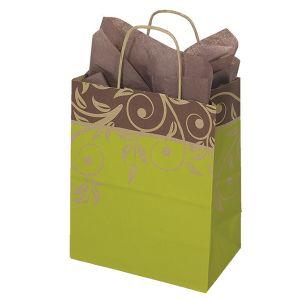 """Medium Shopping Bag, Aruba, 8"""" x 4.75"""" x 10.25"""" (cub)"""