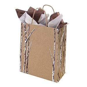 "Medium Shopping Bag, Birch Bliss, 8"" x 4.75"" x 10.25"" (cub)"