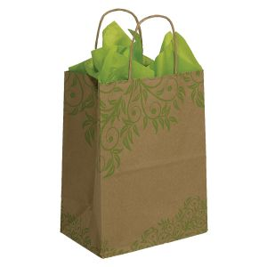 "Medium Shopping Bag, Lantana, 8"" x 4.75"" x 10.25"" (cub)"