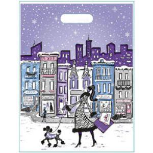 Winter City Collection, Medium LD Plastic Bags