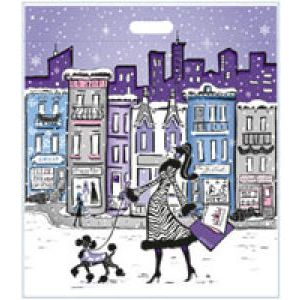 Winter City Collection, Large LD Plastic Bags