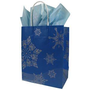 "Medium Shopping Bag, Royal Frost Collection, 8"" x 4-3/4"" x 10-1/2"""