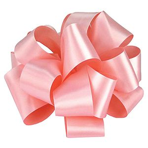 Light Pink, Double Faced Satin Ribbon