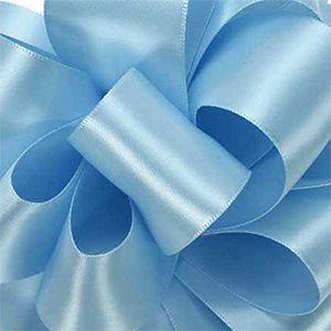 Light blue, Double Faced Satin Ribbon