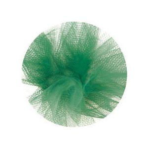 "6"" Emerald, Tulle Rolls"