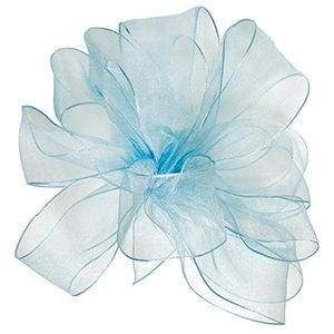 Light Blue, Wired Encore Ribbon
