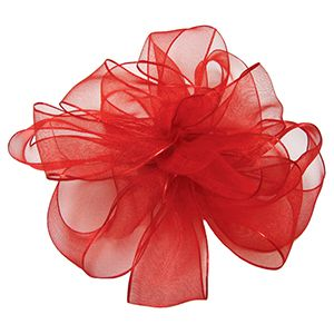 Red, Wired Encore Ribbon