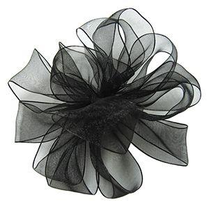 Black, Wired Encore Ribbon