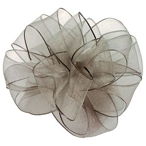 Pewter, Wired Encore Ribbon