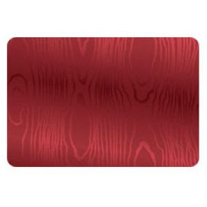Everyday Gift Enclosure Card, Moire Foil - Red