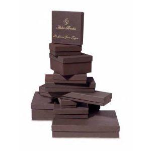 Chocolate Embossed, Jewelry Box Assortments