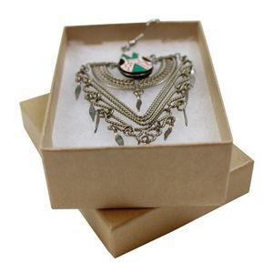 "Natural Kraft Jewelry Boxes, 3"" x 2-1/8"" x 1"""