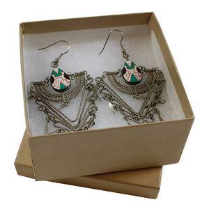 "Natural Kraft Jewelry Boxes, 3.5"" x 3.5"" x 1-7/8"""