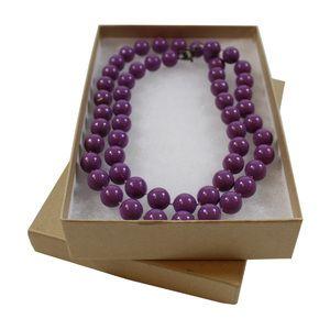 "Natural Kraft Jewelry Boxes, 5-7/16"" x 3.5"" x 1"""