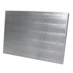"Silver Foil Jewelry Boxes, 7"" x 5"" x 1"""