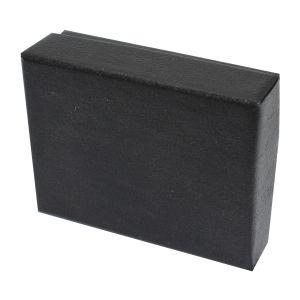 "Black Embossed Jewelry Boxes, 2"" x 2"" x 1"""