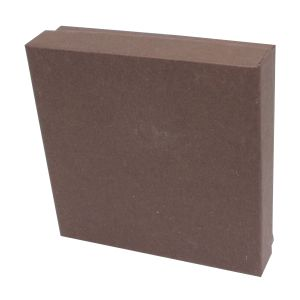 """Chocolate Embossed Jewelry Boxes, 3"""" x 3"""" x 1"""""""
