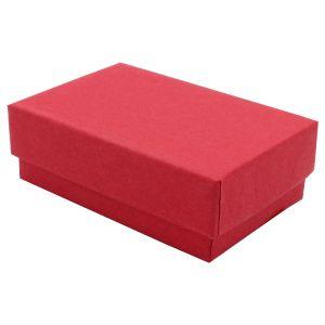 """Red Kraft Jewelry Boxes, 2-7/16"""" x 1-5/8"""" x 13/16"""""""