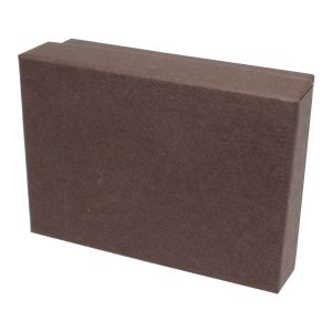 """Chocolate Embossed Jewelry Boxes, 3"""" x 2"""" x 1"""""""