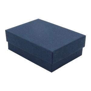 """Navy Blue Kraft Jewelry Boxes, 3"""" x 2-1/8"""" x 1"""""""