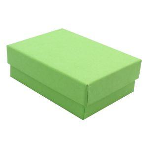 "Light Green Kraft Jewelry Boxes, 3"" x 2-1/8"" x 1"""