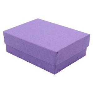 "Purple Kraft Jewelry Boxes, 3"" x 2-1/8"" x 1"""