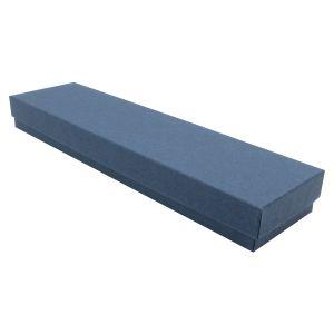 """Navy Blue Kraft Jewelry Boxes, 8"""" x 2"""" x 7/8"""""""