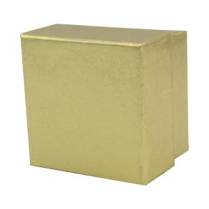 """Gold Foil Jewelry Boxes, 2"""" x 2"""" x 1"""""""